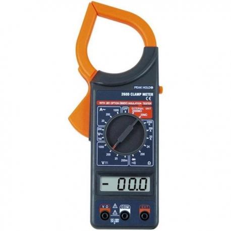 Multimetru digital cu cleste ampermetric (clampmetru) 260D
