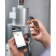 Masuratori la distanta cu termometru infrarosu cu Bluetooth, Testo 805i