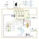 Schema conexiuni placa electronica aer conditionat U02B