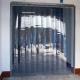 Perdea PVC transparenta camera frigorifica