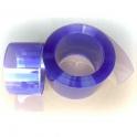 Perdea PVC transparenta, fasii 300mm x 3mm