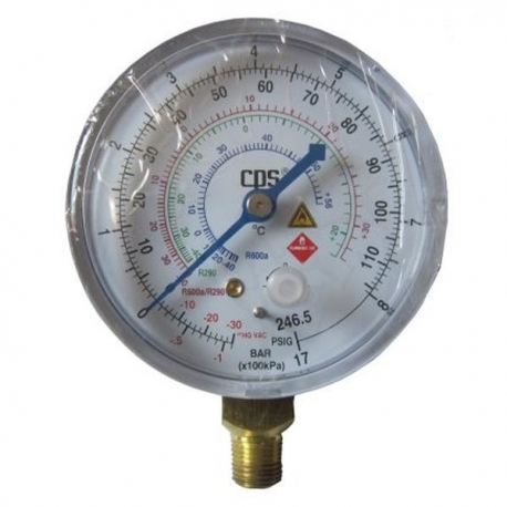 Manometru freon R600 si R290, RGHCL CPS