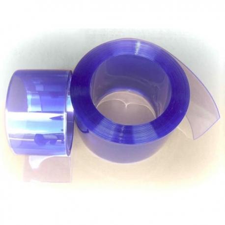 Perdea PVC transparenta, latime 100mm, grosime 1,5mm