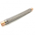 Racord flexibil antivibrant, 108 mm sudabil