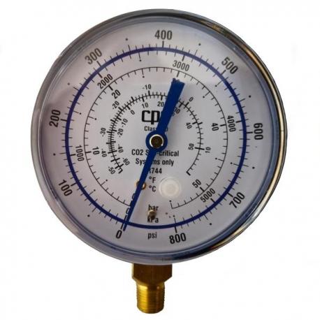 Manometru CO2 (R744) subcritc, presiune joasa