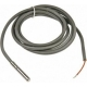 Sonda PTC cablu siliconic lungime 3 metri, bulb metalic