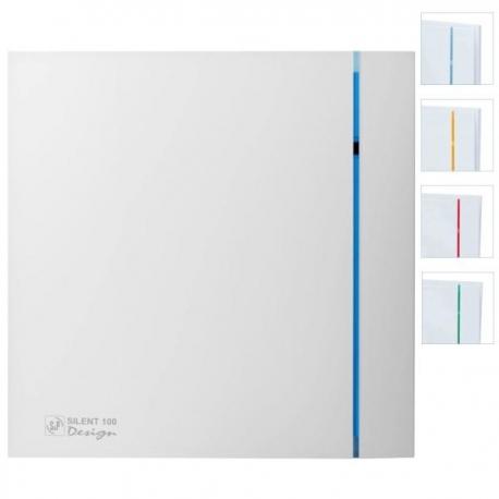 Ventilator baie cu senzor umiditate si timer, Silent-100 CHZ Design 3C