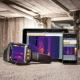Camera termoviziune Testo 872 vizualizare si pe alte ecrane