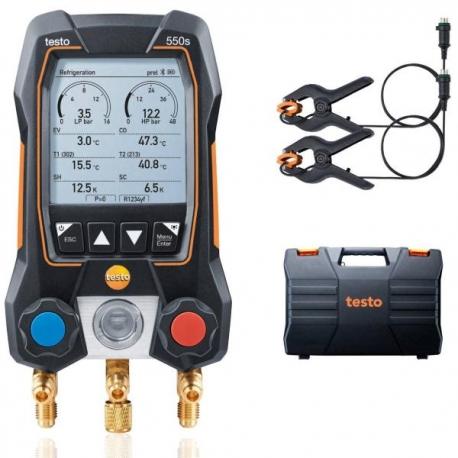 Set basic Testo 550s cu clesti temperatura
