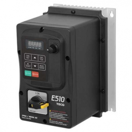 Convertizor frecventa TECO E510 0,75kW 230V IP66