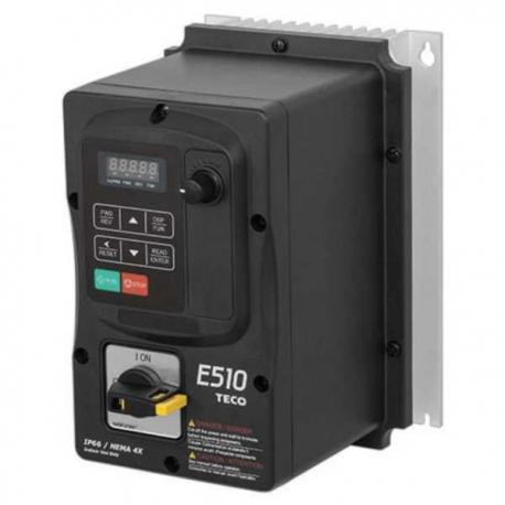 Convertizor frecventa TECO E510 0,75kW 400V IP66