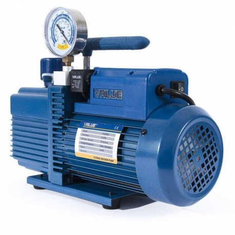 Pompa vacuum cu vacuumetru si electrovalva V-i220SV Value