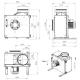 Dimensiuni ventilator extractie bucatarie (hota) Ruck MPS 250 E2 20