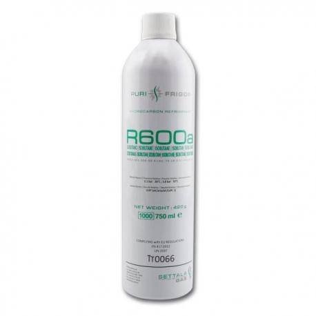 Freon R600a (izobutan) in recipient de unica folosinta, cantitate 420 g