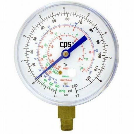 Manometru presiuni joase, freoni R134A, R404A, R407C, R507q