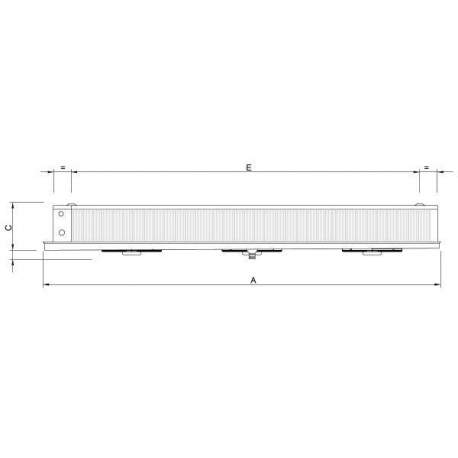 Evaporator ventilat pentru refrigerare 1.35 kW, SDH20304-4M