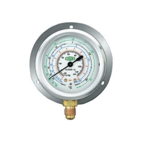 Manometru presiuni inalte, cu lichid, freoni R22, R134a, R404a