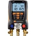 Testo 550-1, manifold digital pentru freon (baterie electronica)
