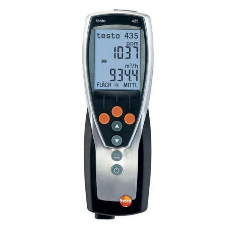 Testo 435-1 ventilatie si calitatea aerului ambiental