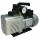 Pompa vacuum, 2 trepte, 283 l/min, vacuumetru, electrovalva