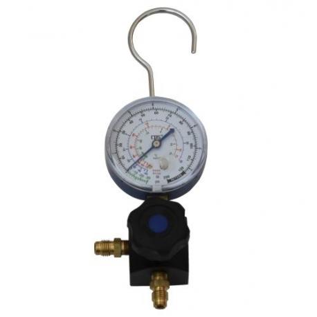 Baterie manometru freon joasa presiune R134A, R404A, R407C