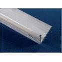 Plinta de colt din aluminiu pentru profil colt, lungime 4 metri