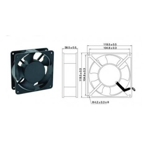 Ventilator (cooler) cu carcasa 120 mm