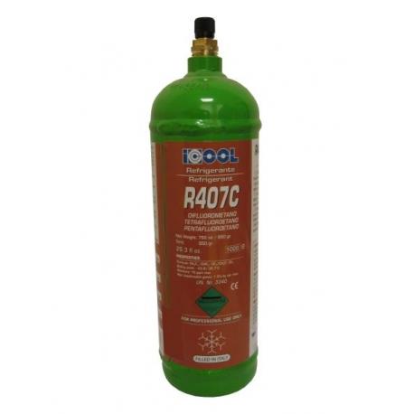 Freon R407C, recipient reincarcabil, 850 grame