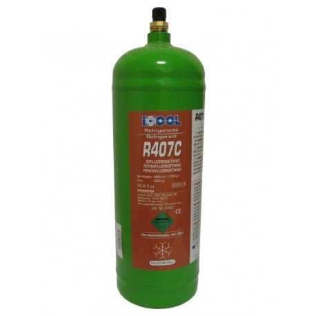 Freon R407C, recipient reincarcabil, 1700 grame