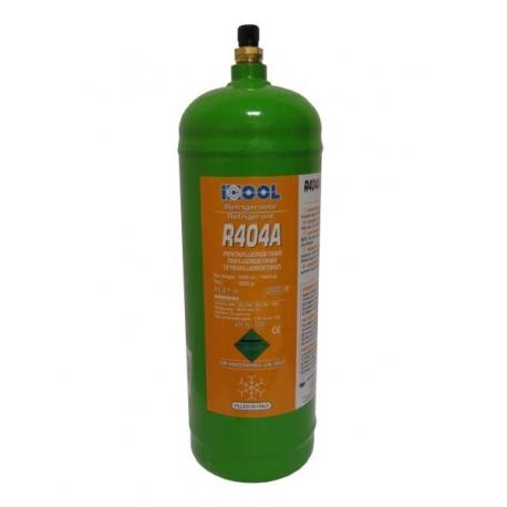 Freon R404A, recipient reincarcabil, 1600 grame