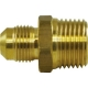 U1-4B adaptor bronz FE 1/4 inch SAE, FI 1/4 inch NPT