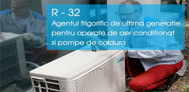 Agent frigorific R32