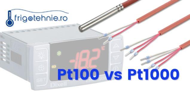 Sonda de temperatura Pt100 vs Pt1000